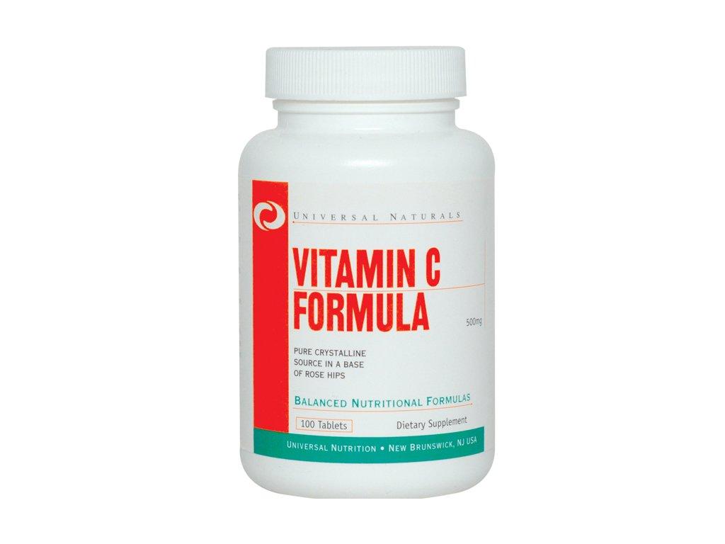 Universal Vitamín C 100tbl 500mg exp.06/16