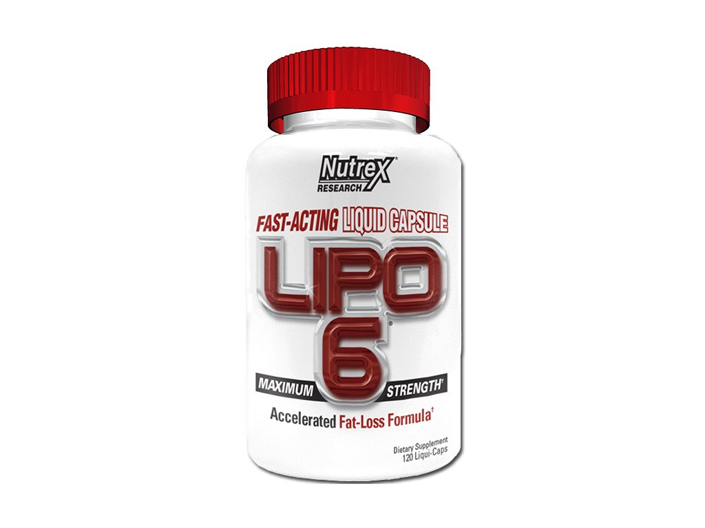Nutrex Lipo 6 White 120 cps
