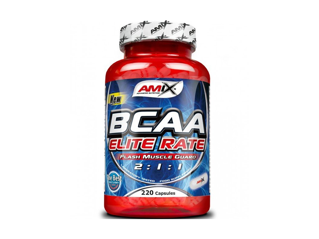Amix BCAA Elite rate 220cps  + CashBack  108 Kč / 4,2 €