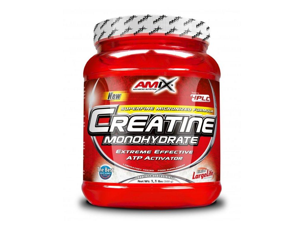 Amix Creatine Monohydrate 500g  + CashBack po registraci 87 Kč / 3,3 €