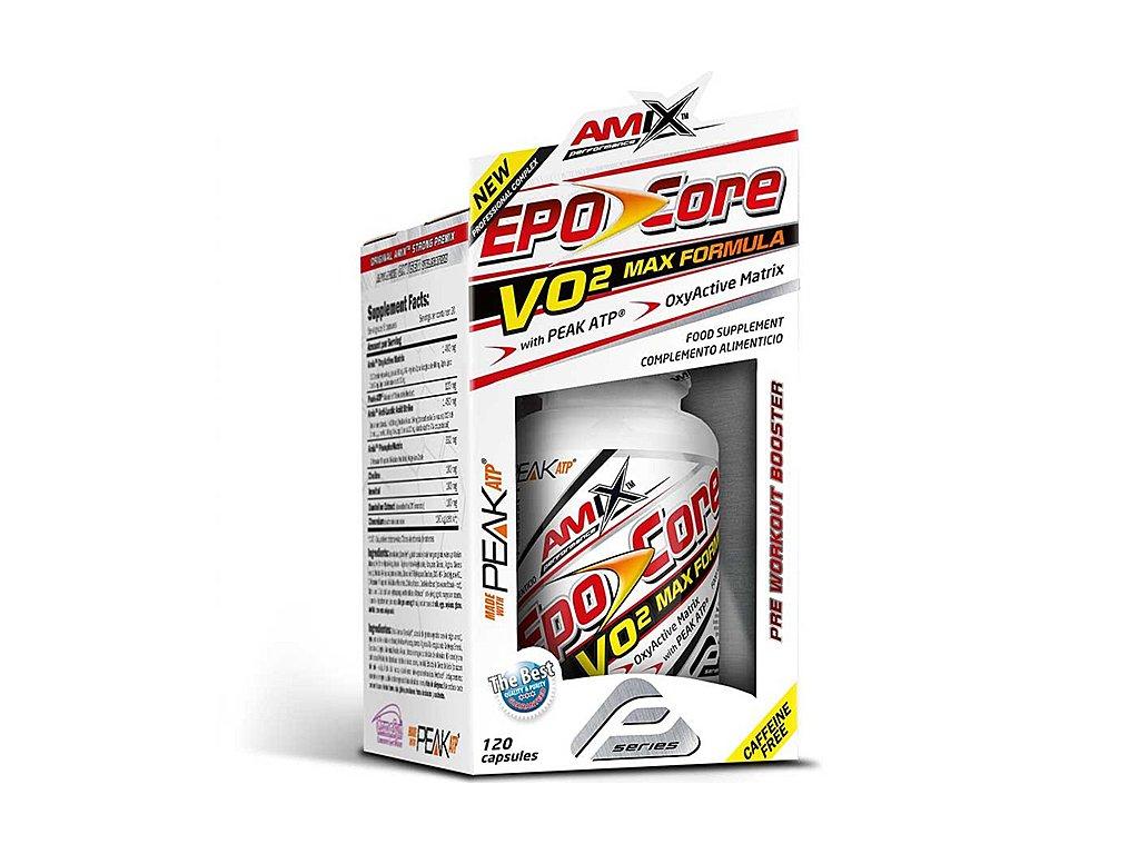 Amix Perfromance Epo-Core VO2 MAX 120cps BOX  + CashBack po registraci 85 Kč / 3,3 €