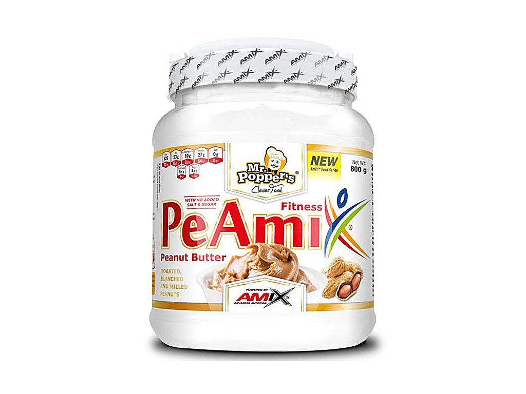 Amix Mr.Poppers PeAmix Fitness Peanut Butter 800g  + CashBack po registraci 14 Kč / 0,5 €