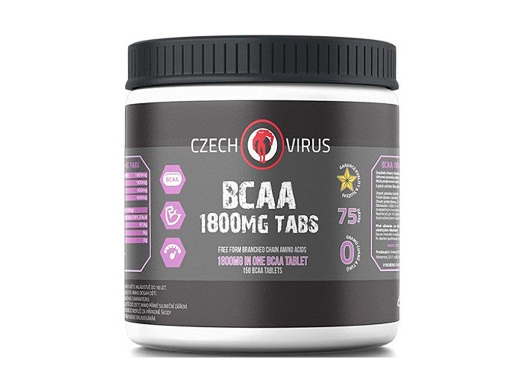 Czech Virus BCAA 1800 150 tablet  + CashBack  69 Kč / 2,7 €