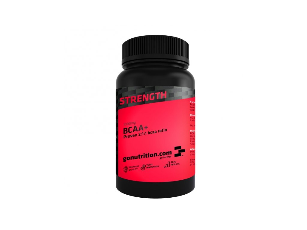 GoNutrition BCAA+ 180 tablet exp.