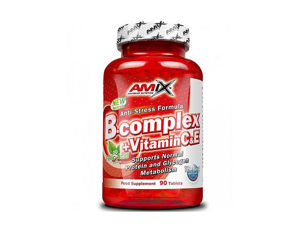 Amix B-complex + vitamín C a E 90 tablet  + CashBack po registraci 50 Kč / 1,9 €