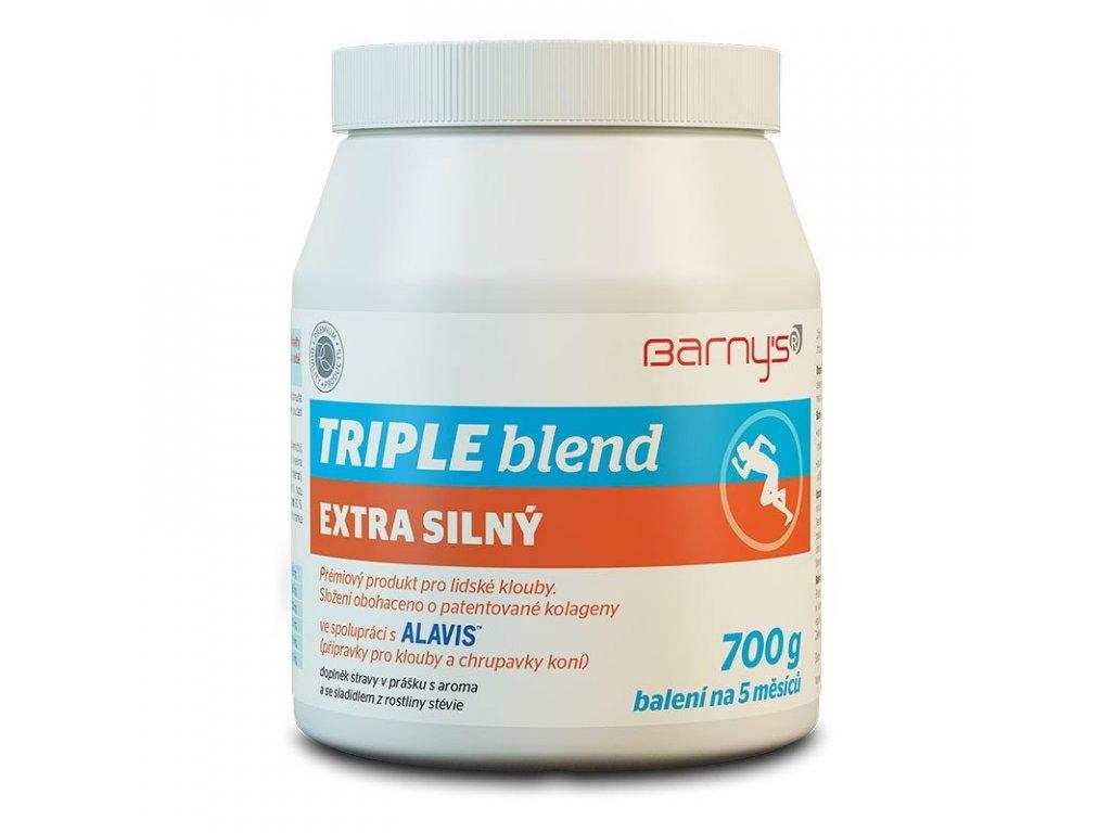 Barny's Triple Blend Extra Silný 700g - Původní verze bez stévie