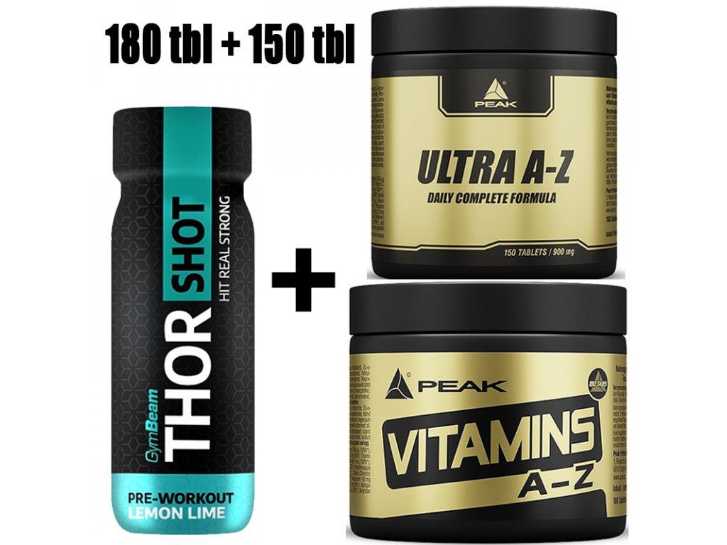 vitamins az + ultra az + thor shot zdarma