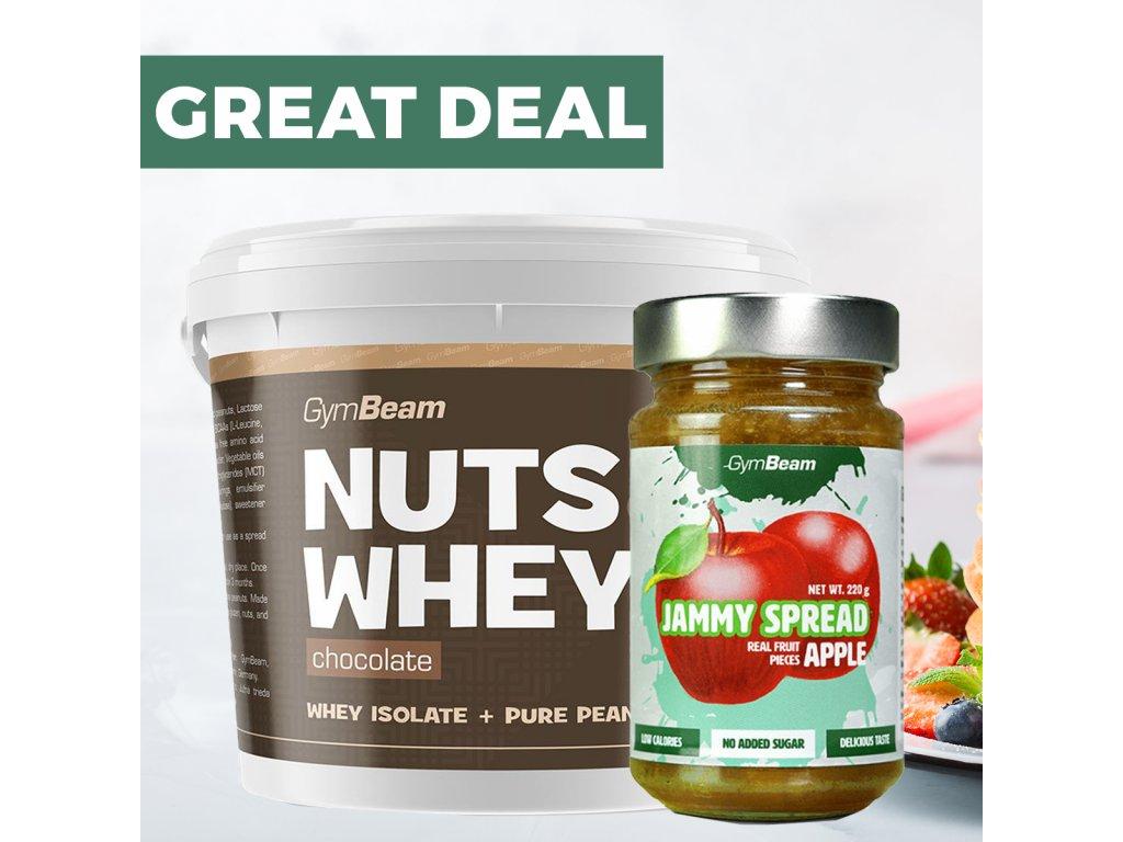 GYMBEAM NUTS + JAM AKCE