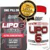 Nutrex Lipo 6 BLACK Ultra Concentrate + Lipo 6 White 120 cps