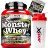 Amix Anabolic Monster Whey 2200g + Vzorek + Shaker ZDARMA