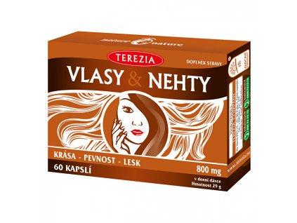 Terezia Company TEREZIA Vlasy & Nehty 60 tobolek