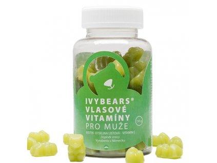 IVY Bears vlasové vitamíny pro muže 60 kusů