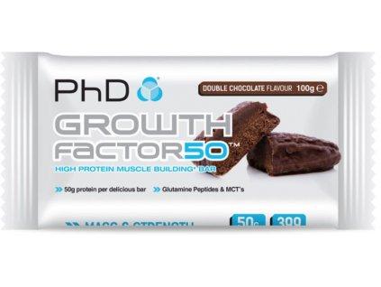 PhD Nutrition Growth Factor 50% 100 g