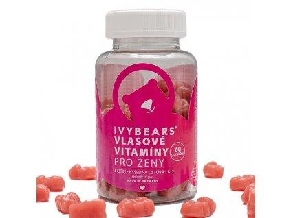 IVY Bears vlasové vitamíny pro ženy 60 ks