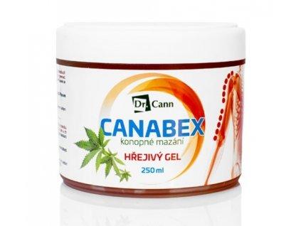 Dr Cann CANABEX™ Konopné mazání - hřejivý gel 250 ml