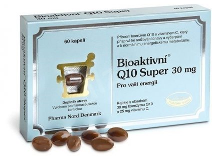 Pharma Nord Bioaktivní Q10 Super 30 mg 60 ks