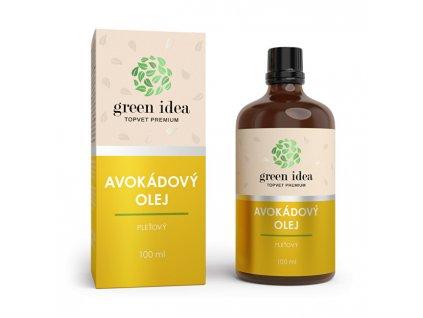 Topvet Avokádový olej 100 ml