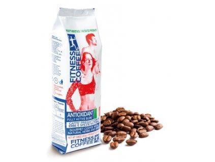Monvitaly Káva FITNESS COFFEE® Antioxidant Fully Active Blend zrnková 250 g