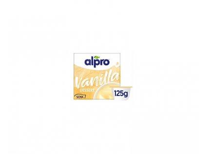 Alpro Sójový dezert s vanilkovou příchutí 4 x 125 g