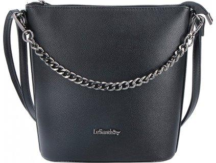 Le-Sands Dámská crossbody kabelka 4113 Black