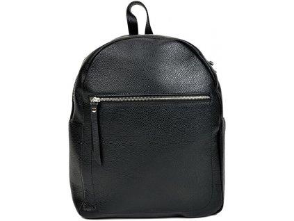Mangotti Dámský kožený batoh MG1573 Nero