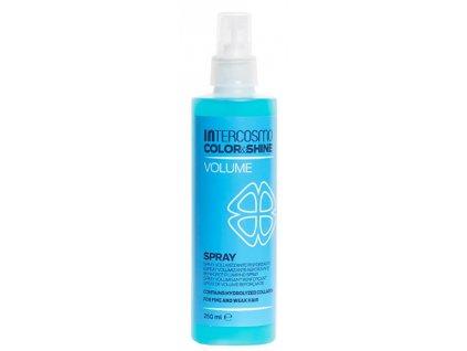 Intercosmo Sprej pro objem vlasů Color & Shine Volume (Spray) 250 ml