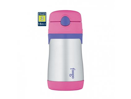 Thermos Foogo kojenecká termoska - růžová 290 ml
