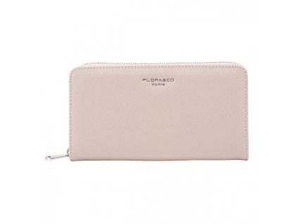 FLORA & CO Dámská peněženka K1688 Beige Taupe