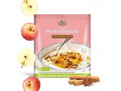 Good Nature Proteinová kaše s jablečno-skořicovou příchutí na hubnutí 60 g