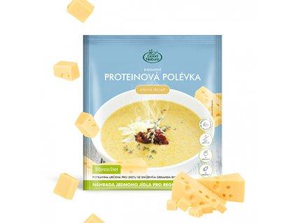 Good Nature Proteinová polévka se sýrovou příchutí na hubnutí 58 g
