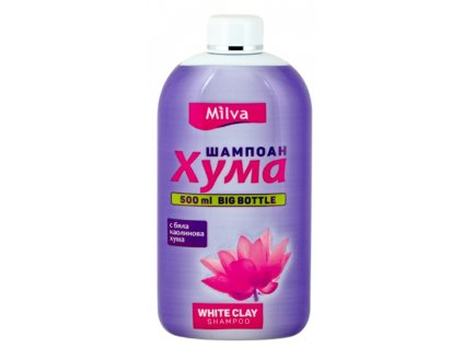 Milva Šampon jílový HUMA 500 ml