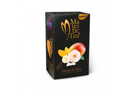 BIOGENA Majestic Tea Mango & Růže 20 x 2,5 g
