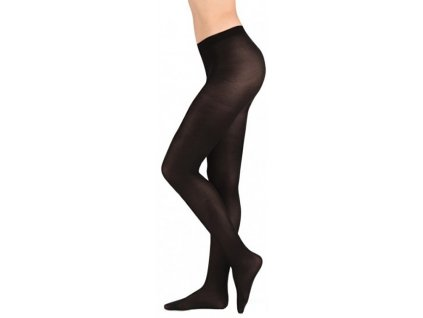 Evona Elastické černé dámské punčochové kalhoty Star 512047-999
