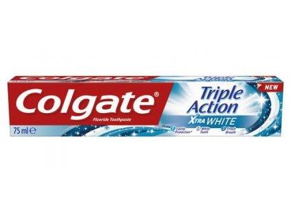 Colgate Bělicí zubní pasta Triple Action White 75 ml