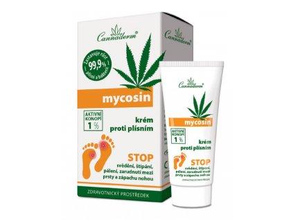Cannaderm Mycosin krém proti plísním 30 g