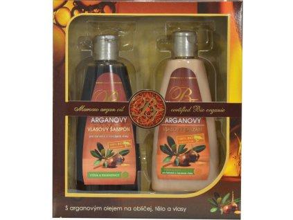 body tip Dárková kazeta vlasové kosmetiky s arganovým olejem