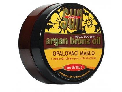 body tip Opalovací máslo s bio arganovým olejem SPF 0200 ml
