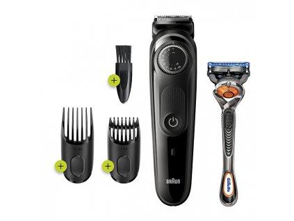 Braun Zastřihovač vousů a vlasů BT5242 Grey