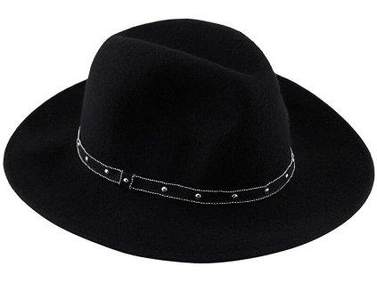 Pieces Dámský klobouk PCFIJANA 17117443 Black