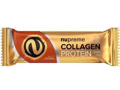 Nupreme Proteinová tyčinka s kolagenem slaný karamel 50 g