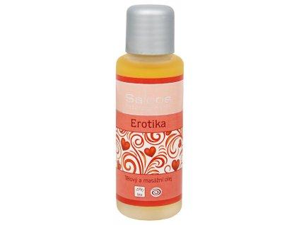 Saloos Bio tělový a masážní olej - Erotika
