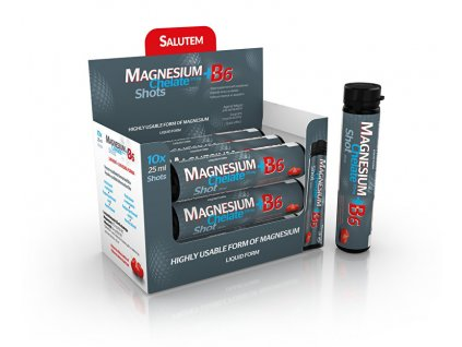 SALUTEM Pharma Magnesium Chelate 375 mg + B6 10 x 25 ml