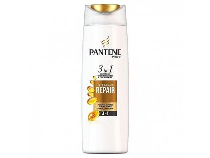 Pantene Šampon pro poškozené vlasy 3 v 1 (Intensive Repair Shampoo + Conditioner + Treatment)