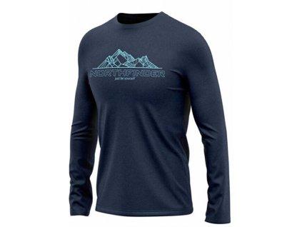 Northfinder Pánské triko Ulises TR-3567OR 298 dark blue