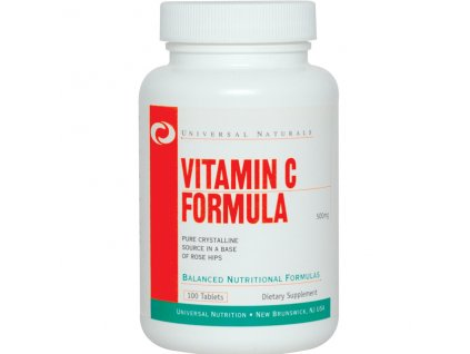 Universal Vitamin C 100tbl 500mg exp.