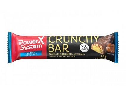 Power System Crunchy Bar 32% Vanilla with Crunchy Caramel 45g