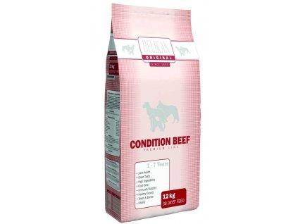 DELIKAN dog ORIGINAL Condition BEEF 12kg-11790  + Dárek dle vlastního výběru