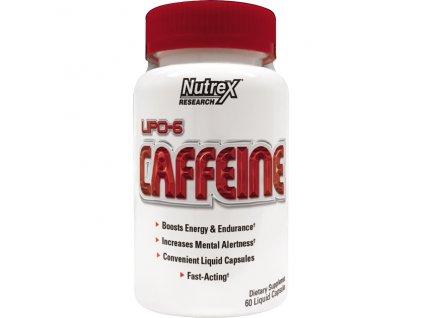 Nutrex Lipo 6 Caffeine 200mg 60cps exp. 30.11.2017