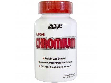 Nutrex Lipo 6 Chromium 100cps exp.