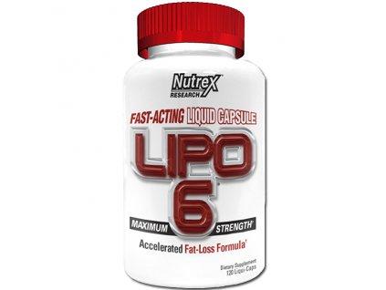 Nutrex Lipo 6 White 120 cps - Výprodej